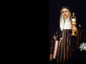 Saint- Clare of Assisi 3