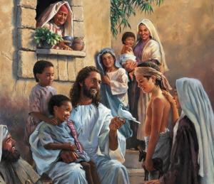 JesusTeachingLovingChild
